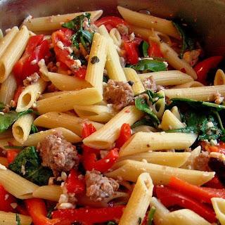 Spinach And Feta Sausage Pasta Recipes