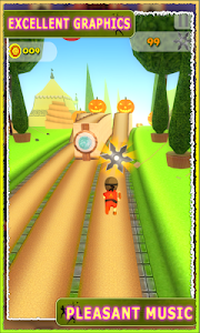 Subway Ninja Assassin Run 3d screenshot 1