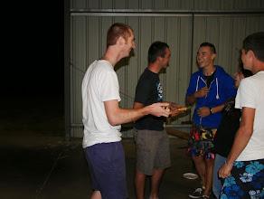 Photo: Les stagiaires du séjour à Anjou ont tenu à récompenser leurs G.O.