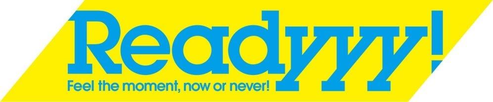 【画像】『Readyyy!』ロゴ
