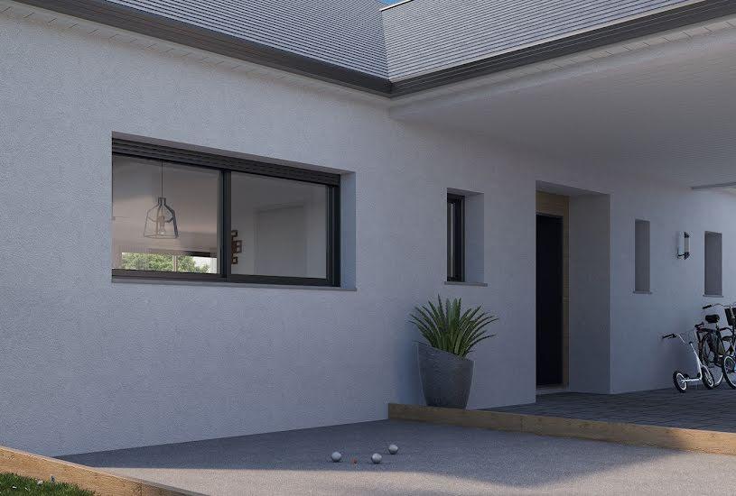 Vente Terrain + Maison - Terrain : 1000m² - Maison : 136m² à Channay-sur-Lathan (37330)