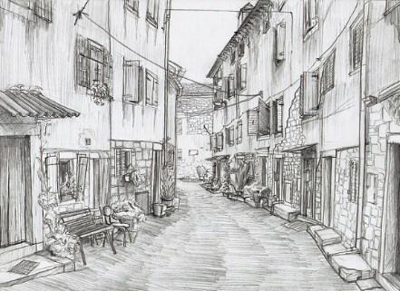 Architectural Pencil Sketch  screenshots 1