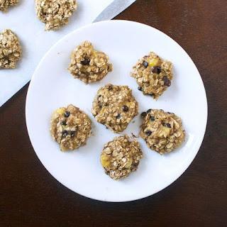 2-Ingredient Banana Bread Cookies