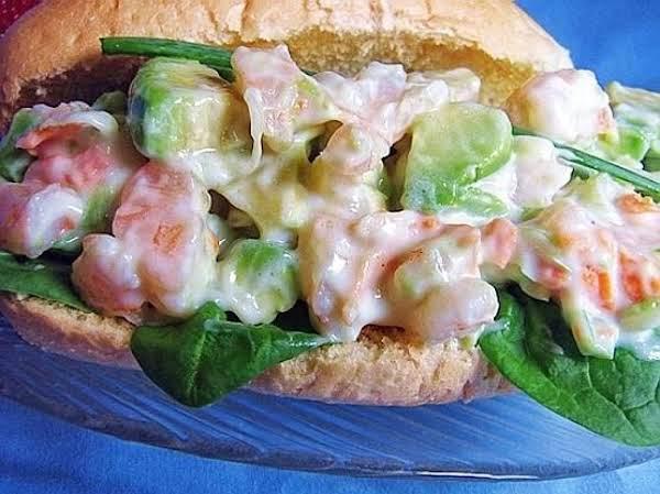Shrimp Avocado Hoagies Recipe