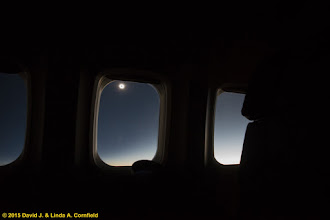 Photo: Fully eclipsed sun