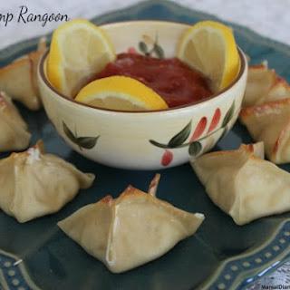 Spicy Shrimp Rangoon.