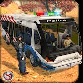 Police Bus Hill Climbing