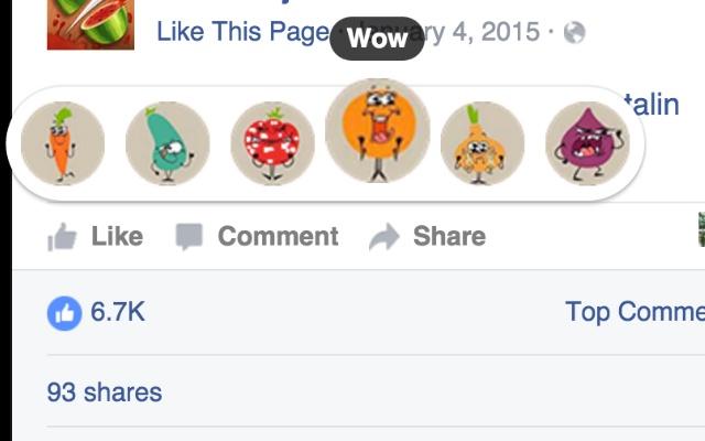 Fruit Reactions