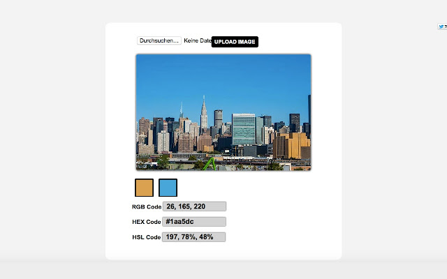 Color Code Picker - RGB, HEX, HTML