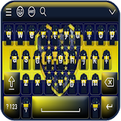 Boca Juniors Keyboard Theme