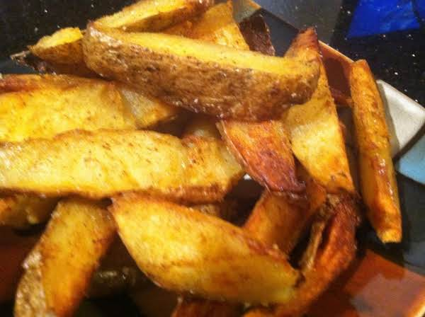 Baked, Fried Mexican Steak Potato Fries Recipe