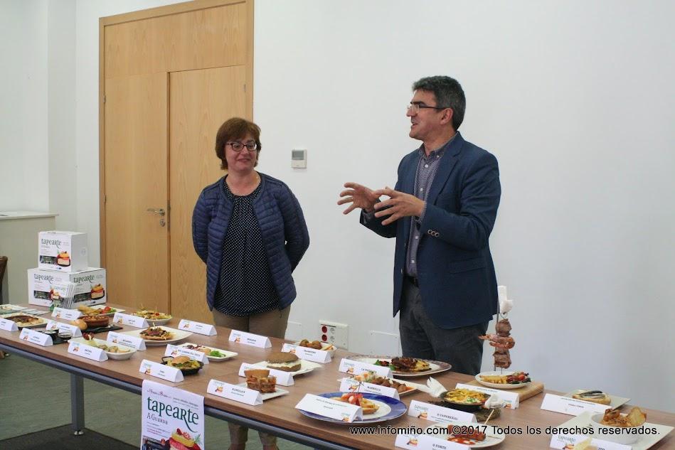En la ruta gastronómica Tapearte 2017 participan un total de 23 establecimientos de hostelería de A Guarda