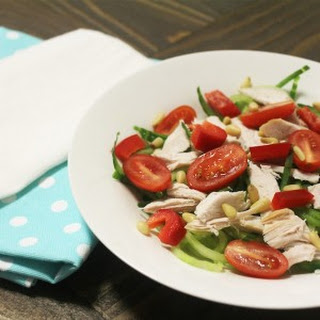 Chicken & Cucumber Noodle Salad