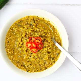 Red Lentil Soup.