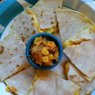 Gluten Free Breakfast Quesadillas.