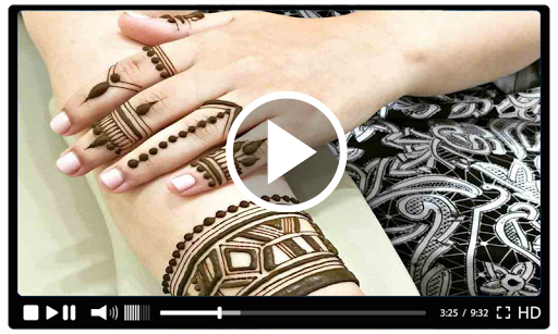 Simple Mehndi Designs Videos Tutorial 2018 1.4 screenshots 5