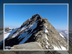 Photo: Arête rocheuse menant au sommet de l'Albaron