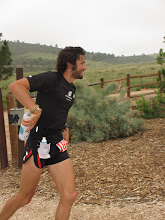 Photo: 7th place finisher Jacob Rydman at mile 40.