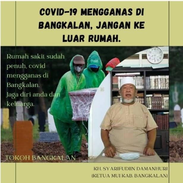 Pemuka Agama di Jatim Jadi Contoh dan Teladan Cegah Meningkatnya COVID-19
