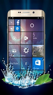 Theme Launcher For Win 10 Pro - náhled
