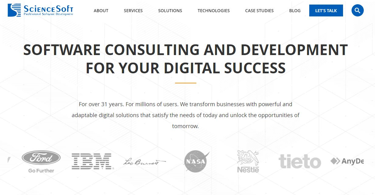 Sciencesoft Cybersecurity Company