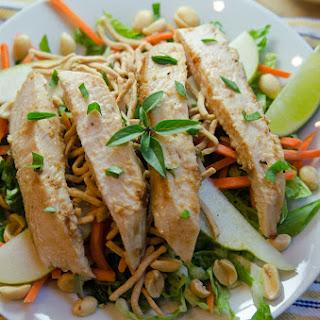 Asian Peanut Chicken Salad