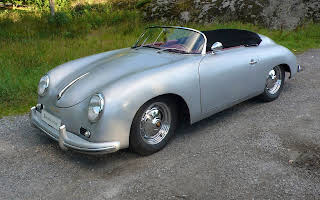 Porsche 356 Speedster Rent Stockholm