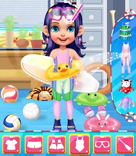 Summer Splash Beach Girl Salon- screenshot thumbnail