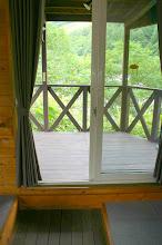 Photo: 土足のまま、テラスへ行けます。 可以光脚进入露台 enter the terrace bare feet