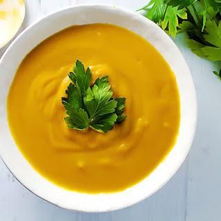 Savory Butternut Squash Soup.