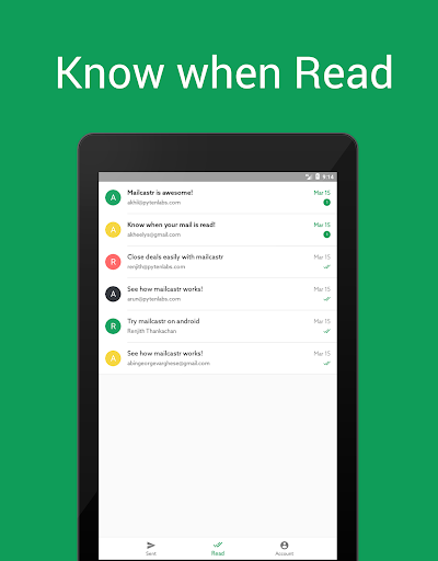 Mailcastr- Read receipts for Gmail and Gsuite 2.0.39-2559b2e screenshots 7