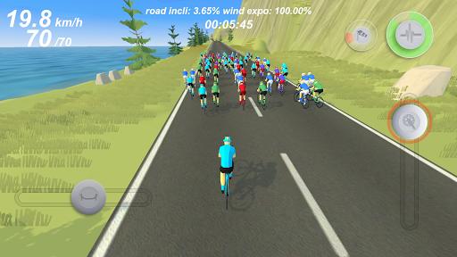 Pro Cycling Simulation android2mod screenshots 1