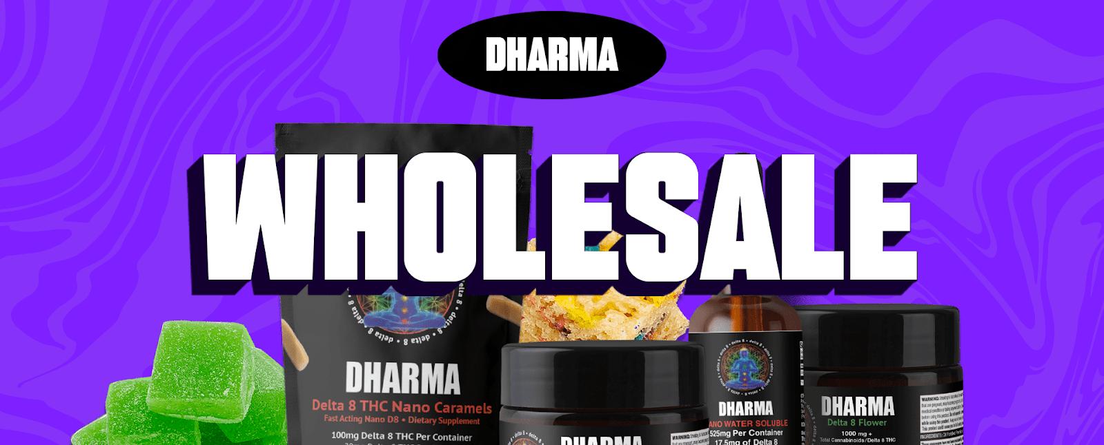 Dharma D8 Delta-8 THC Wholesale Registration Image