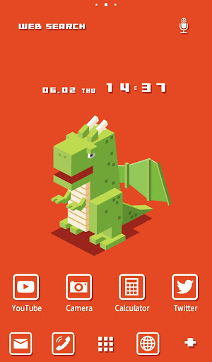 Pixel Dragon 壁紙きせかえ