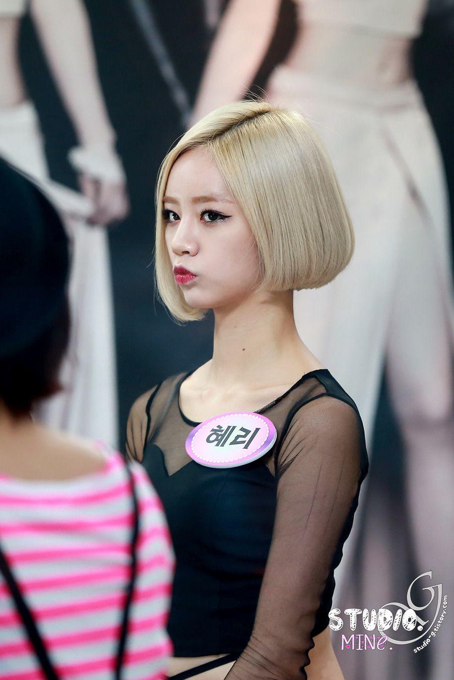 hyeri blonde 1