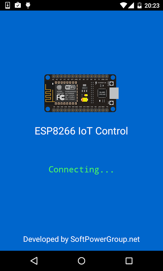 ESP8266  IoT Control Devices- screenshot