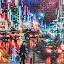 Street Art Brick Lane by Katherine Rynor - City,  Street & Park  Street Scenes ( walking, streer art, london, wall, man, brick lane,  )