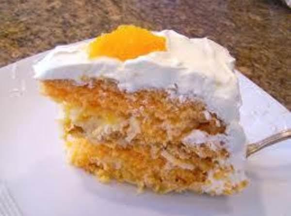 Fresh Orange Cake Recipe