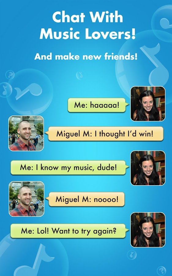 Screenshots of SongPop for iPhone
