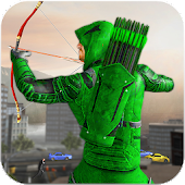 Green Arrow Super hero games: Bow and arrow games