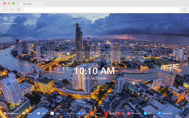 Bangkok Popular Cities New Tabs HD Themes