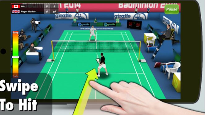 best sports games for android badminton