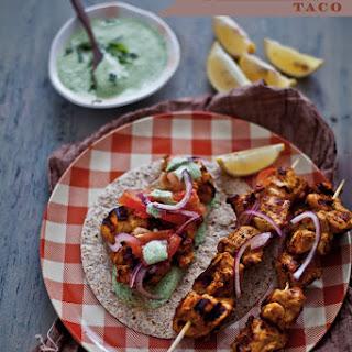 Malai Chicken Tikka Taco