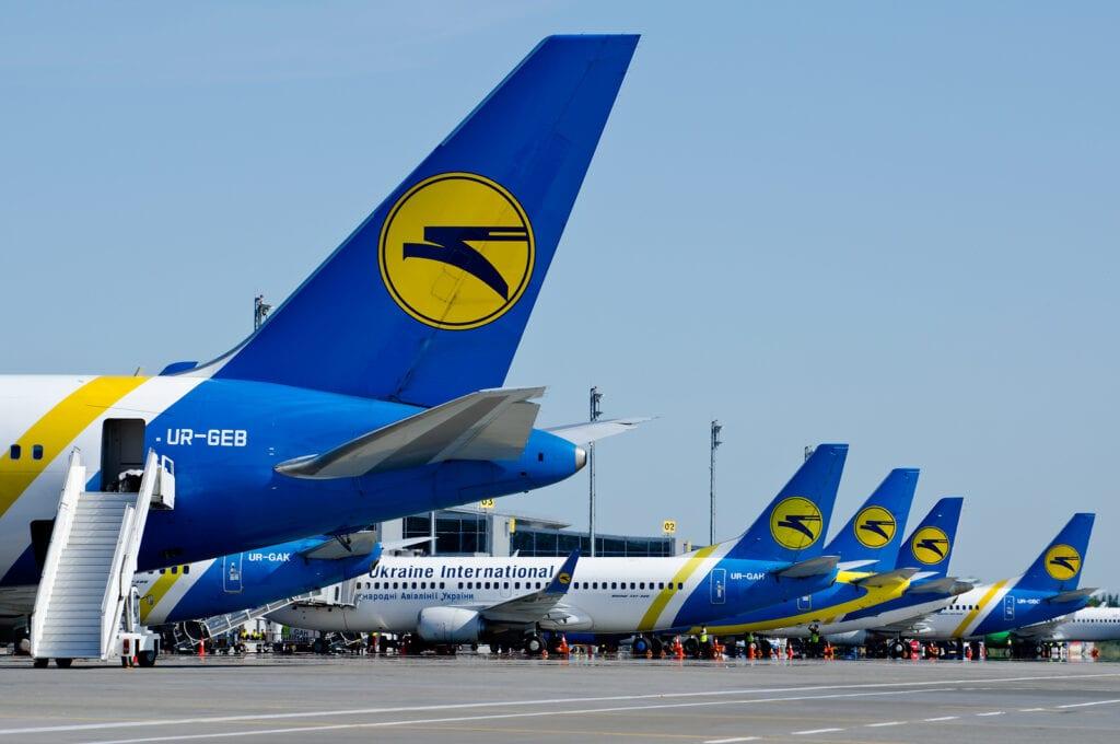 Ukraine airline - Borders reopening