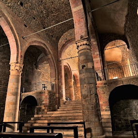 scalinata by Vito Masotino - Buildings & Architecture Public & Historical ( hdr, travel, italy, medioevo,  )