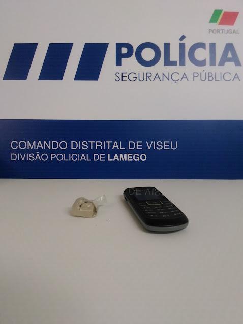 Detenção por posse de droga em Lamego