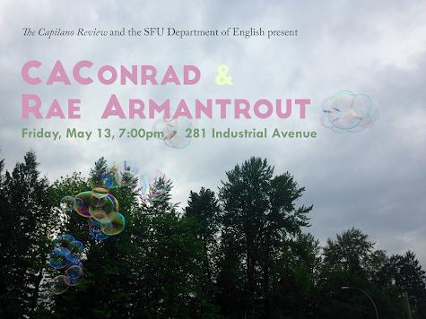 CAConrad & Rae Armantrout