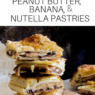 Peanut Butter, Banana, and Nutella Pastries Recipe