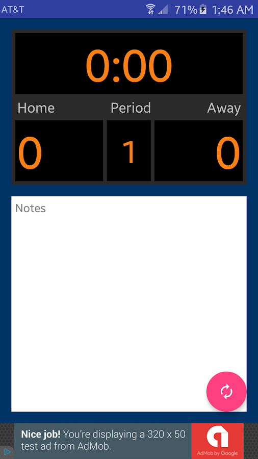 Scorebook Free- screenshot
