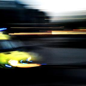 Reality Rush by Amy-louise Maszuchin - Transportation Other ( rush, ambulance, speed, night )